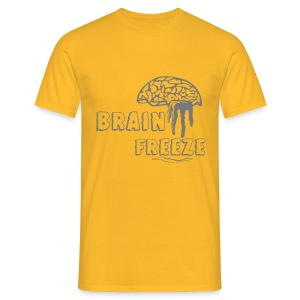 Brainfreeze - Männer T-Shirt