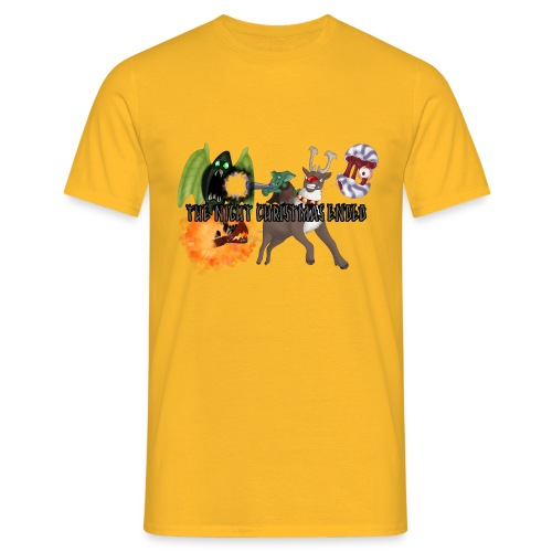 The Night jul Ended - Herre-T-shirt