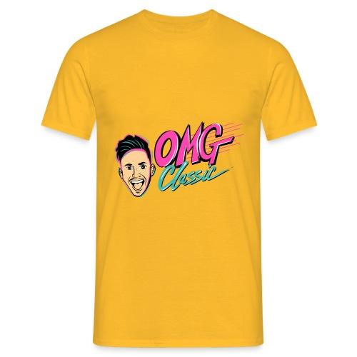 OMGCLASSIC Logo HiRes - Men's T-Shirt