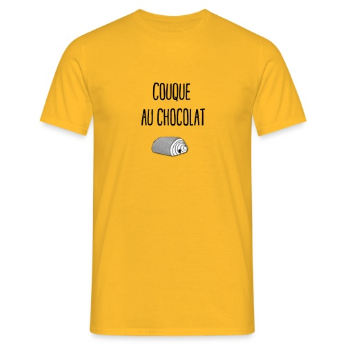 Couque au chocolat - T-shirt Homme