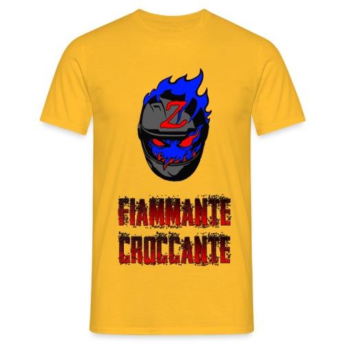 FlamesLogo - Maglietta da uomo