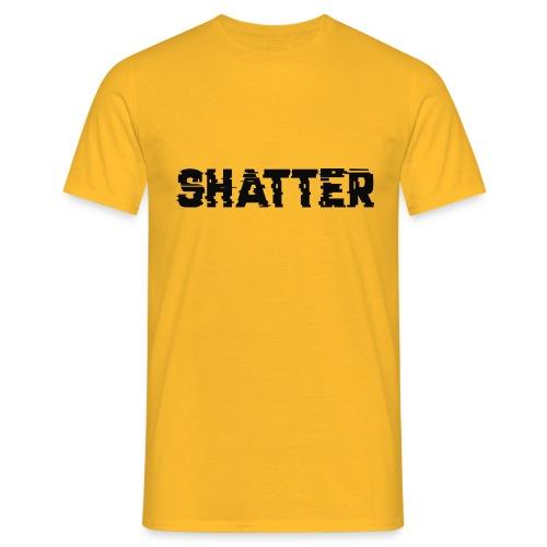 shatter - Männer T-Shirt