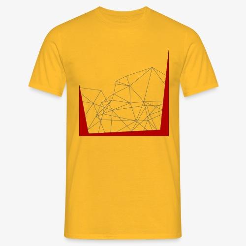 astri Abstract - Maglietta da uomo