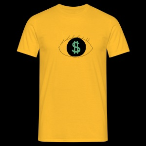 Eyes worlds $ - T-shirt Homme