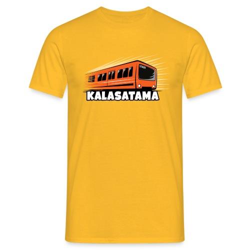 11- METRO KALASATAMA - HELSINKI - LAHJATUOTTEET - Miesten t-paita