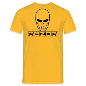R8ZOR LOGO B/W - Men's T-Shirt