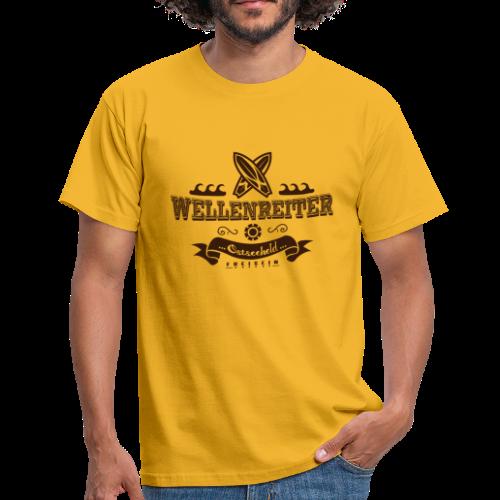 Geweihbaer Wellenreiter - Männer T-Shirt