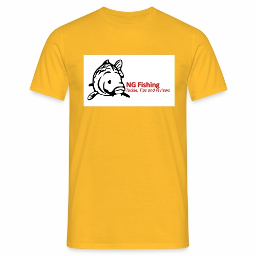 ng fishing logo new - Men's T-Shirt