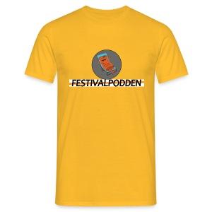Festivalpodden - Loggorna - T-shirt herr