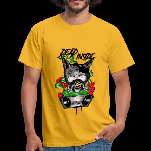 catblaster colore - Maglietta da uomo
