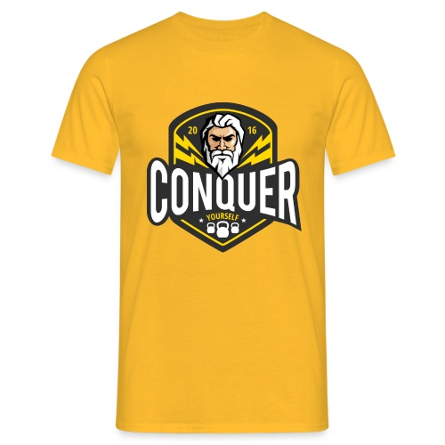 Conquer Yourself Clothing - Männer T-Shirt