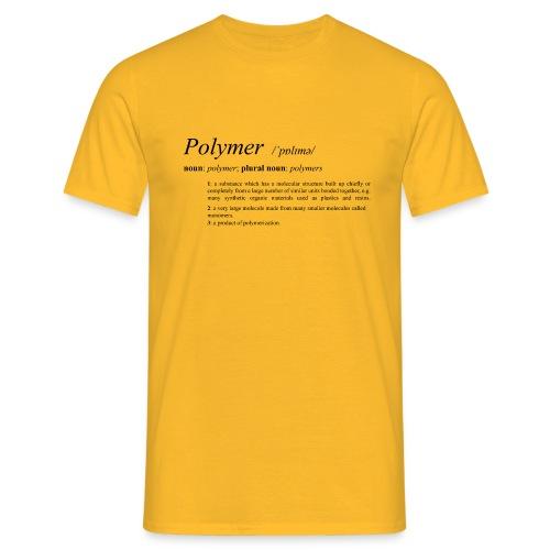 Polymer definition. - Men's T-Shirt