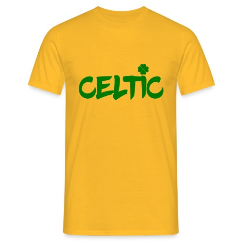 Celtic Clover - Men's T-Shirt
