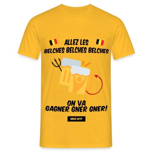 Allez les belches! - T-shirt Homme