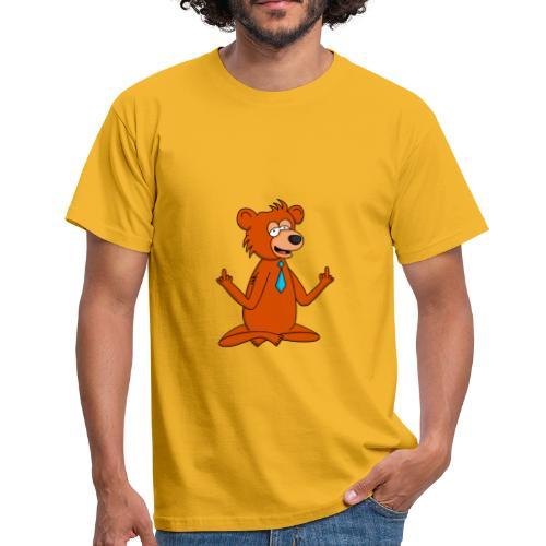 Yoga Bär - Männer T-Shirt