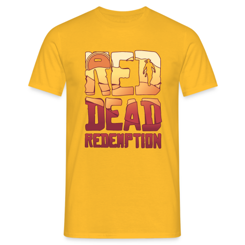 Red dead redemtion Sunset - Camiseta hombre
