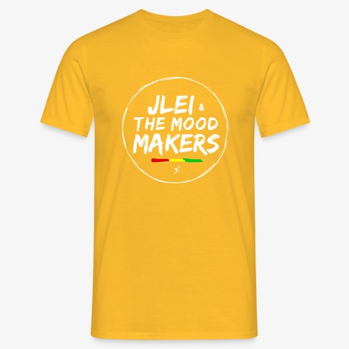 Jlei & The Mood Makers Bandlogo - Männer T-Shirt
