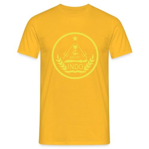 Indo_Melati_GEEL - Mannen T-shirt