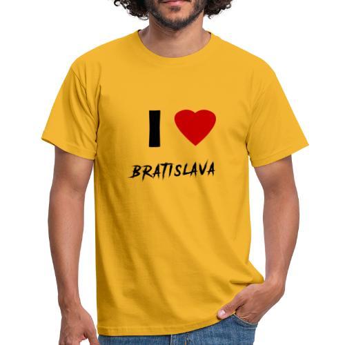 I ♥ Bratislava - Männer T-Shirt