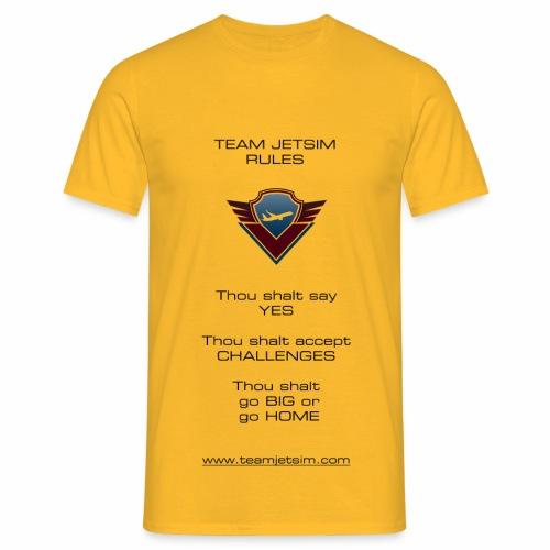 TJS RULES - Men's T-Shirt