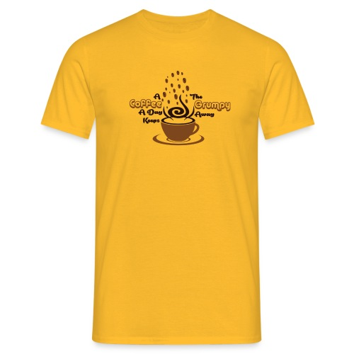 Coffee A Day - Men's T-Shirt