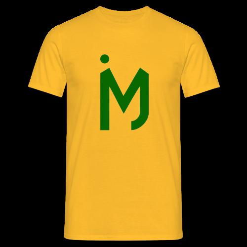 M Groen - Mannen T-shirt