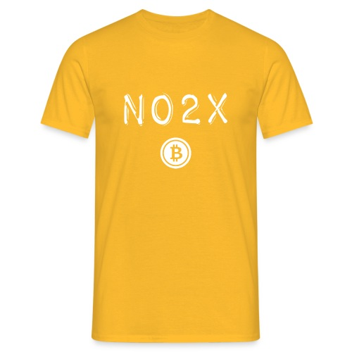 No2X Bitcoin - T-shirt Homme