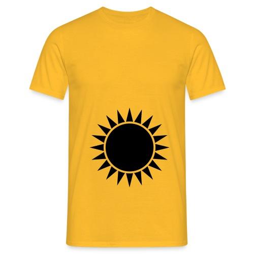 Das Sonnen Mandala - Männer T-Shirt