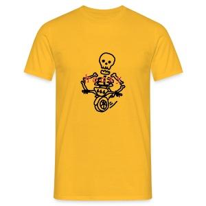 skull scooter - Mannen T-shirt