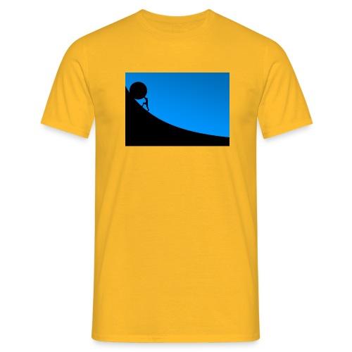 Überwindung - Männer T-Shirt