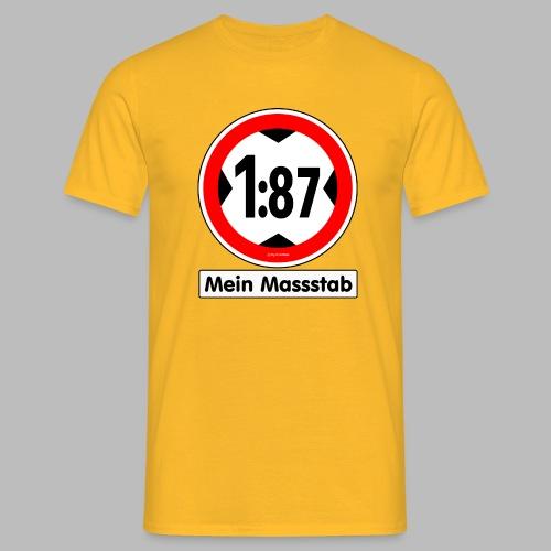 1:87 Mein Massstab - Männer T-Shirt