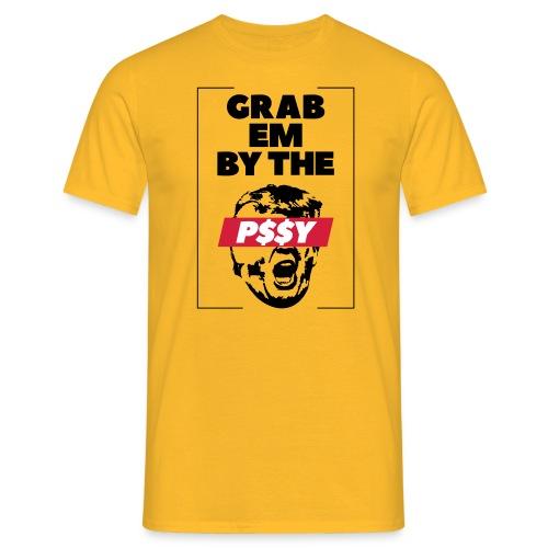 pussy black - Männer T-Shirt