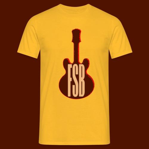 FSB Guitar Logo - Men's T-Shirt
