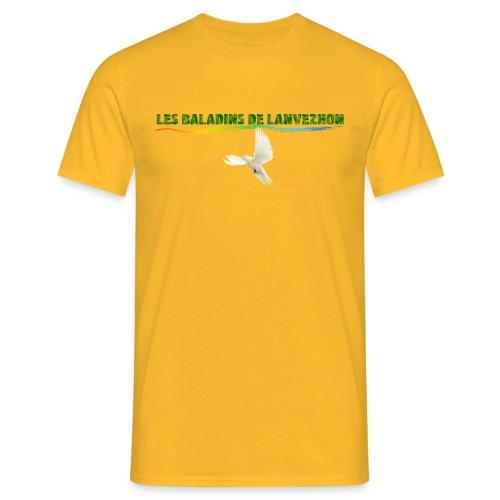 Lanvezhon Colombe - T-shirt Homme