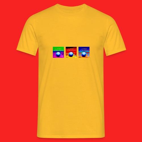 Tripple 4_SURES - Men's T-Shirt
