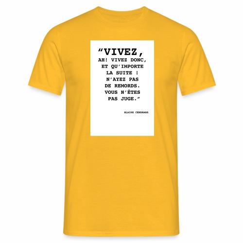 Cendrars#02 - T-shirt Homme