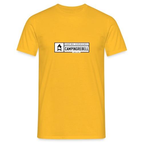 Campingrebell - Männer T-Shirt