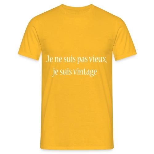 Vintage Attitude - T-shirt Homme