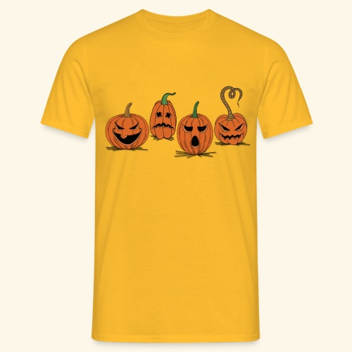 Pumpkin gear - Pumpkin gear on Halloween - Men's T-Shirt