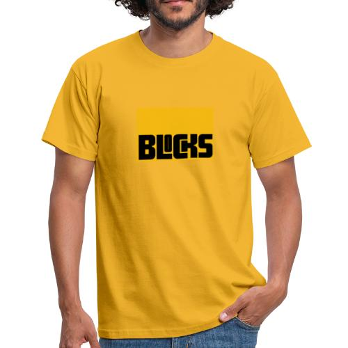 Blocks - Mannen T-shirt