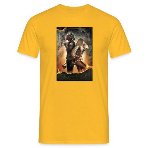 Rapeel and Terrina from Black Guild - Men's T-Shirt