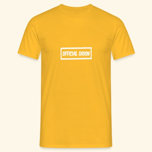 Official Orion Box Logo - Men's T-Shirt