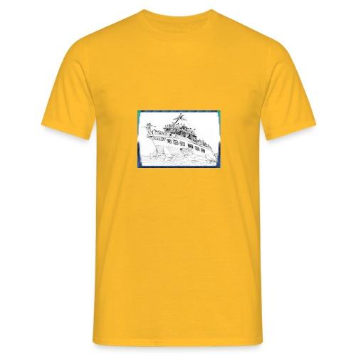 Aliscafo Eolie by fuoricronaca - Maglietta da uomo