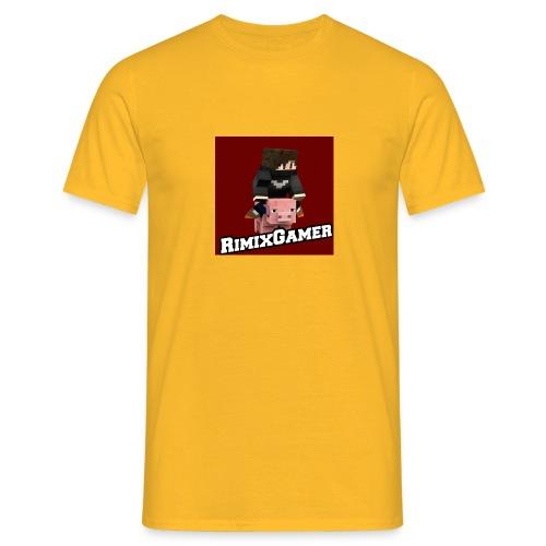 Das Logo von RimixGamer - Männer T-Shirt