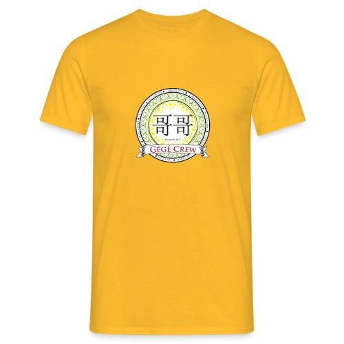 Gégé Crew Wappen - Grün - Männer T-Shirt