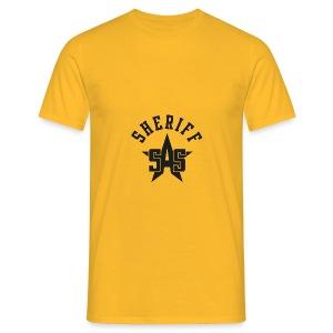 sas sheriff logo los print orig - Mannen T-shirt