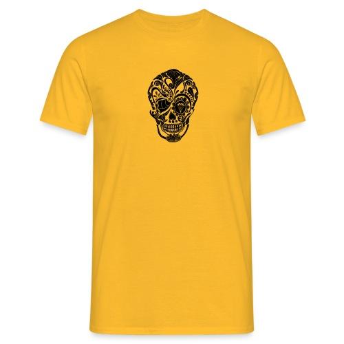 calavera mexicana - Camiseta hombre
