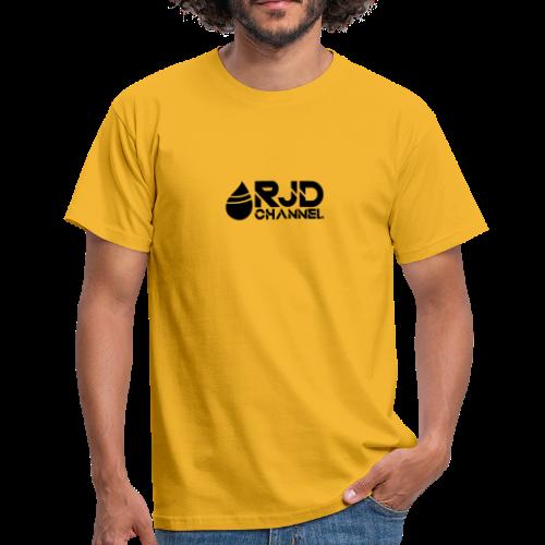 RJD logo zwart - Mannen T-shirt
