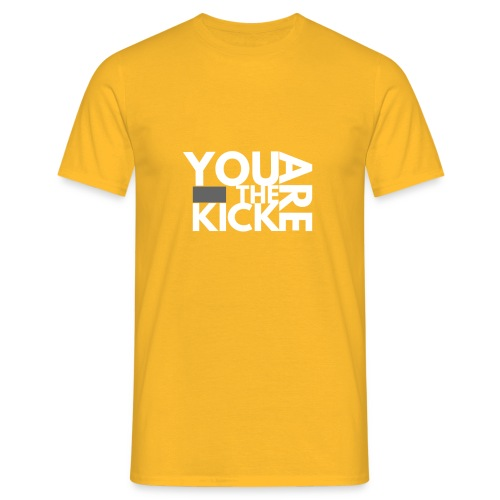 LOGO THE KICK REVERSED - Mannen T-shirt