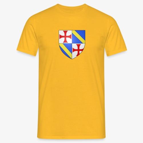 Armoiries Jacques de Molay - T-shirt Homme